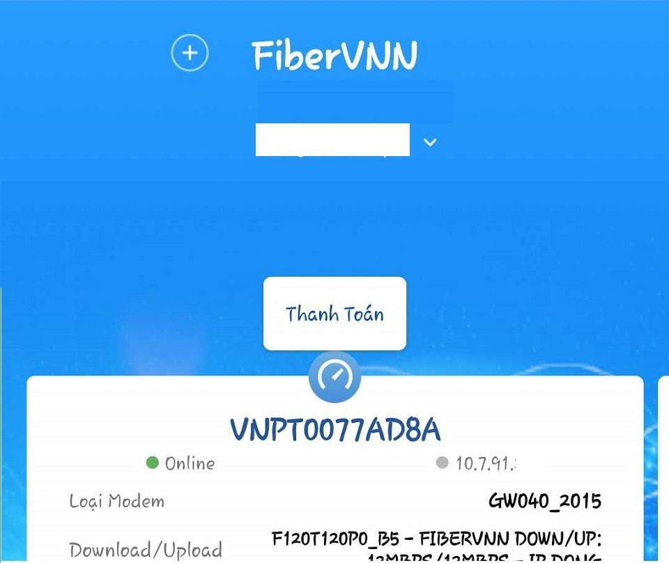 Thông tin gói cước fiber