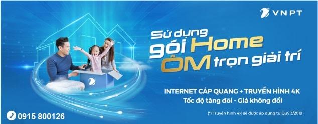 Gói cước Home Internet VNPT